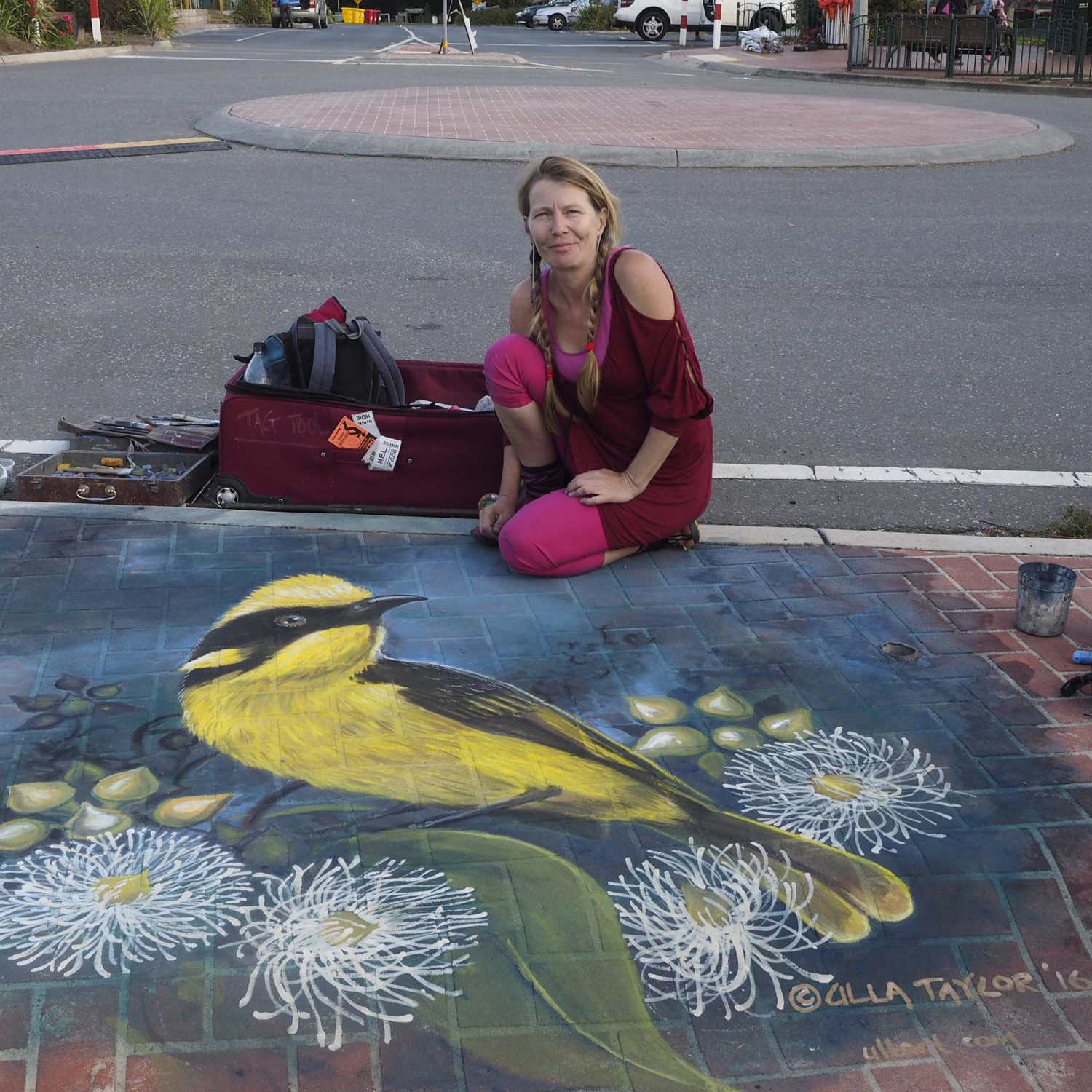 Incredible street art - literally beautifying the pavement
